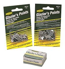 GLAZIER POINTS & TOOL