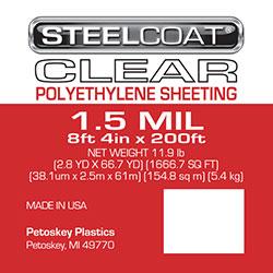PLASTIC SHEETING 1.5MIL