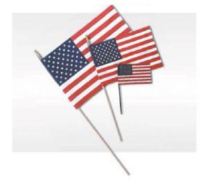 HAND HELD FLAGS