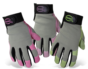 GLOVES, SPLIT LEATHER PALM LADIES