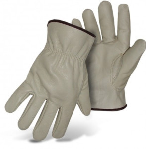 GLOVES, STD COWHIDE LEATHER