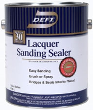 LACQUER SANDING SEALER