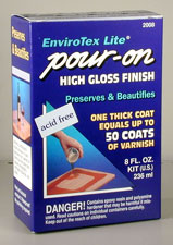 ENVIROTEX LITE POUR ON FINISH