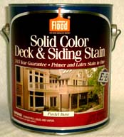 SOLID COLOR DECK & SIDING STAIN