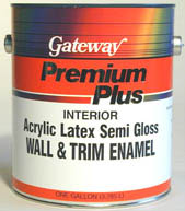 PREM PLUS INT ACRYLIC LTX WALL & TRIM ENAMEL