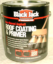 BLK NON FIBERED ROOF COAT