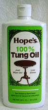TUNG OIL, 100%