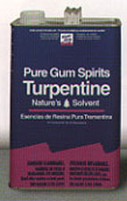 GUM SPIRITS TURPENTINE