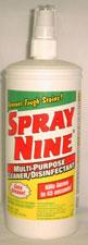 SPRAY NINE CLEANER