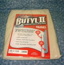 BUTYL II CANVAS DROP