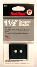 SCRAPER BLADE,2PK