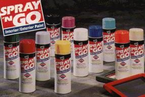 SPRAY N GO ENAMELS