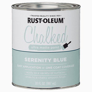 CHALKED PAINT