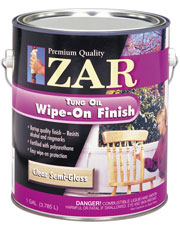 ZAR WIPE-ON POLY