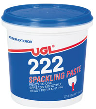 UGL #222 SPACKLING
