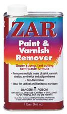 ZAR PAINT & VARNISH REMOVER